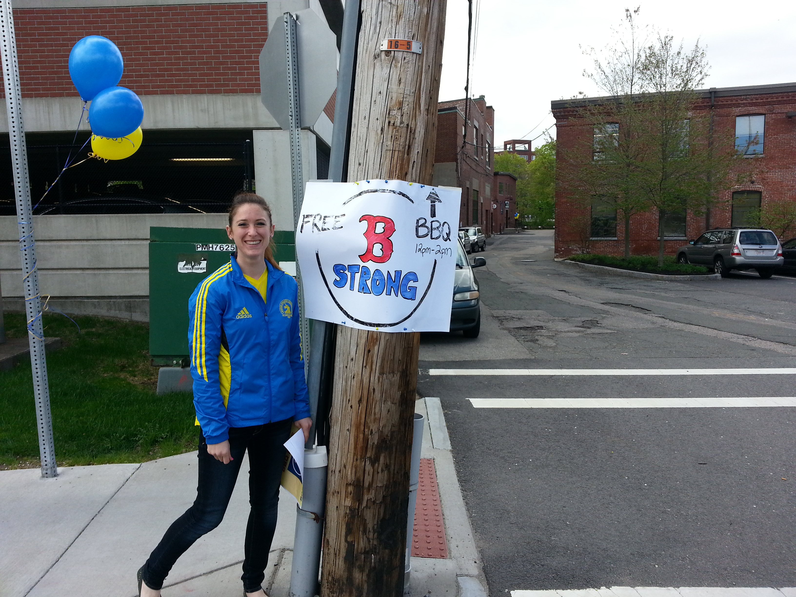 Outfitting the neighborhood for the Boston Strong BBQ