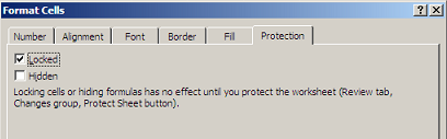 How to sort locked cells in protected worksheets softartisans lock cells dialog box ibookread Read Online