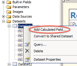 Add a Calculated Field...